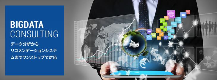 BIGDATA CONSULTING | データ分析からリコメンデーションシステムまでワンストップで対応